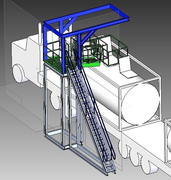 Truck access platform