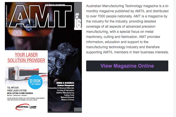 Monitoring overall manufacturing efficiencyAustralian Manufacturing Technology magazine